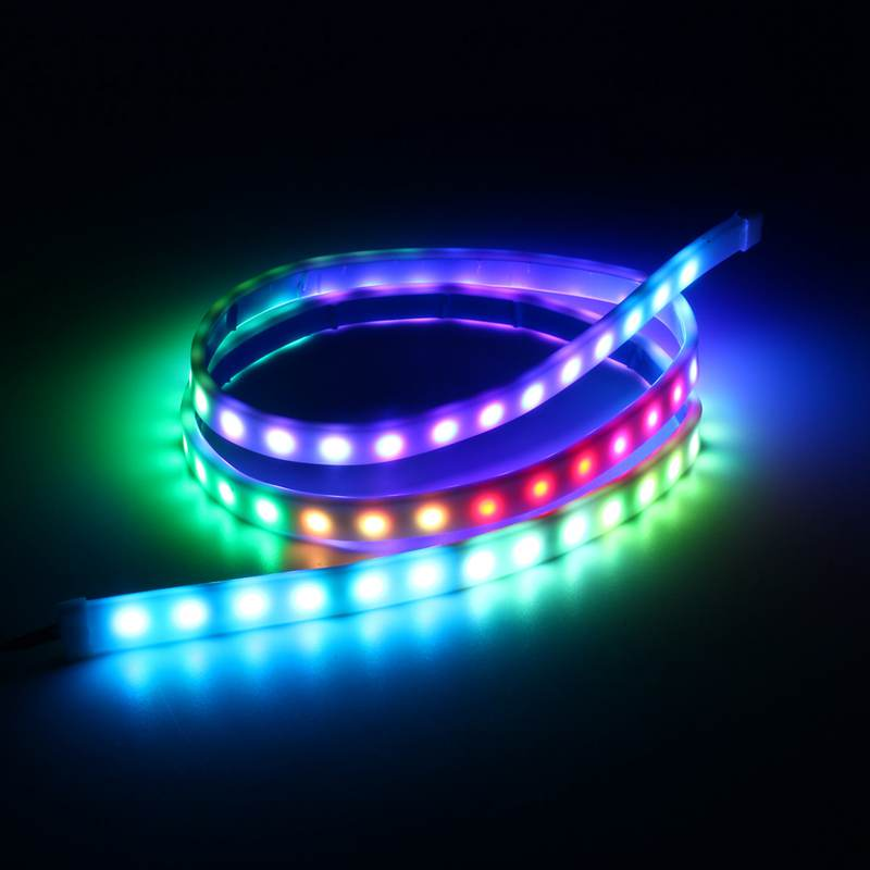120cm RGB LED Strip 7W Multicolor Tail Light Bar Car Auto Truck Daytime Running Lights Brake Stop Light Turn Signal Lamp DC12V