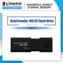 100% original Kingston datavoyageur USB clés 16GB stylo lecteur USB 3.0 haute vitesse pendentifs 3.0 DT100G3