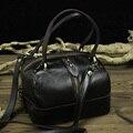 Desenhador do vintage Feminino Pequenas Bolsas De Couro Feminino Genuíno Couro de Vaca Bolsa Feminina Crossbody Bag Alta Qualidade