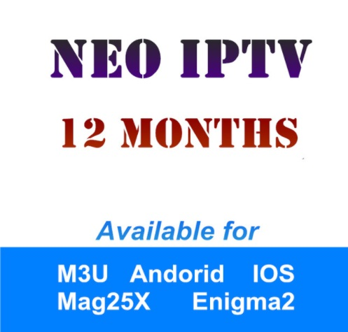 Français IPTV mois abonnement NeoTV 1200 Canaux Europe Arabe Belgique IPTV LiveTV VOD pour MAG254 Android Smart TV