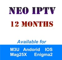 French IPTV 12 Month Subscription NeoTV 1200 Channels Europe Arabic Belgium IPTV LiveTV VOD For MAG254