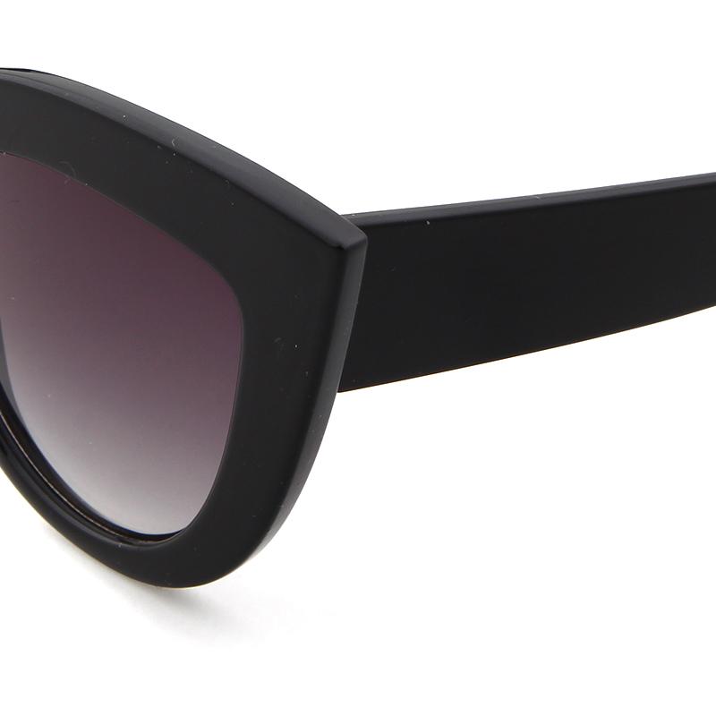 HTB1r4aZRpXXXXcOXXXXq6xXFXXXt - Women's cat eye sunglasses ladies Plastic Shades quay eyewear brand designer black pink sunglasses PTC 221
