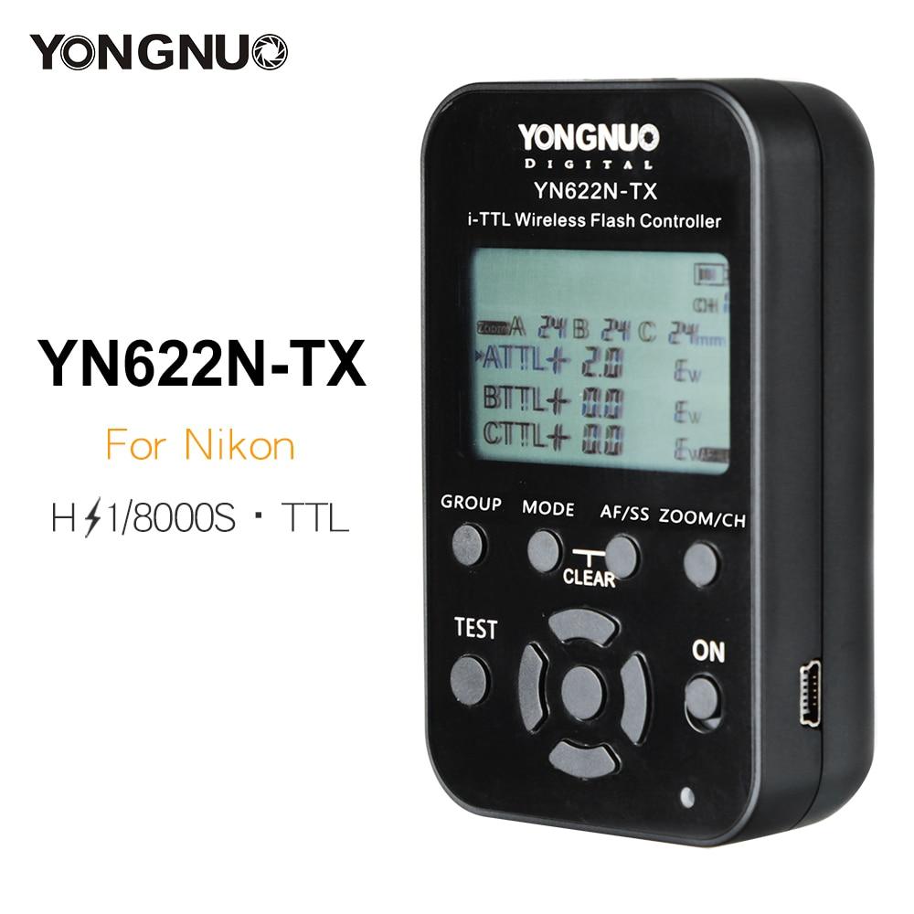 Yongnuo YN 622N TX YN622N TX Transmitter LCD Wireless i TTL Flash Controller 1 8000s Trigger