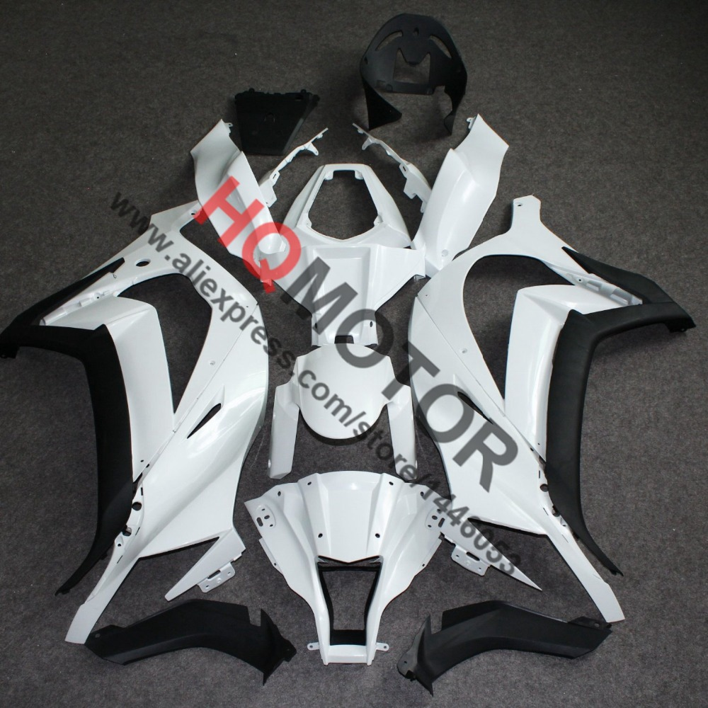 Unpainted ABS Injection Body Work Fairing Cowl Kit for Kawasaki ZX-10R 2011-2013 11 12 13