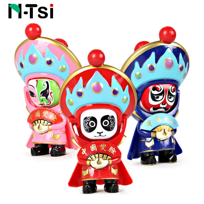 Traditional Creative Chinese Opera Pillow 1 Pc 37x37cm Shape Decorative Throw Pillow Pp Cotton Soft Creative Doll Lover Gift Toys & Hobbies