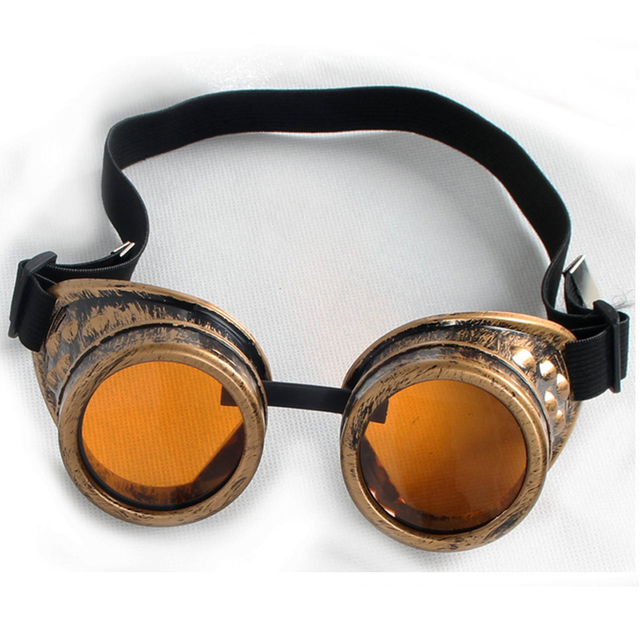 C.F.GOGGLE Unisex Vintage Gothic Victorian Style Steampunk Goggles Welding Punk Cosplay Glasses Sunglasses Women Men's Eyewear