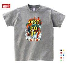 Children Best Sellers Print Funny Clothing Boy T Shirt Girls shirt  personality Printed Summer Hip Hop Anime Tshirt