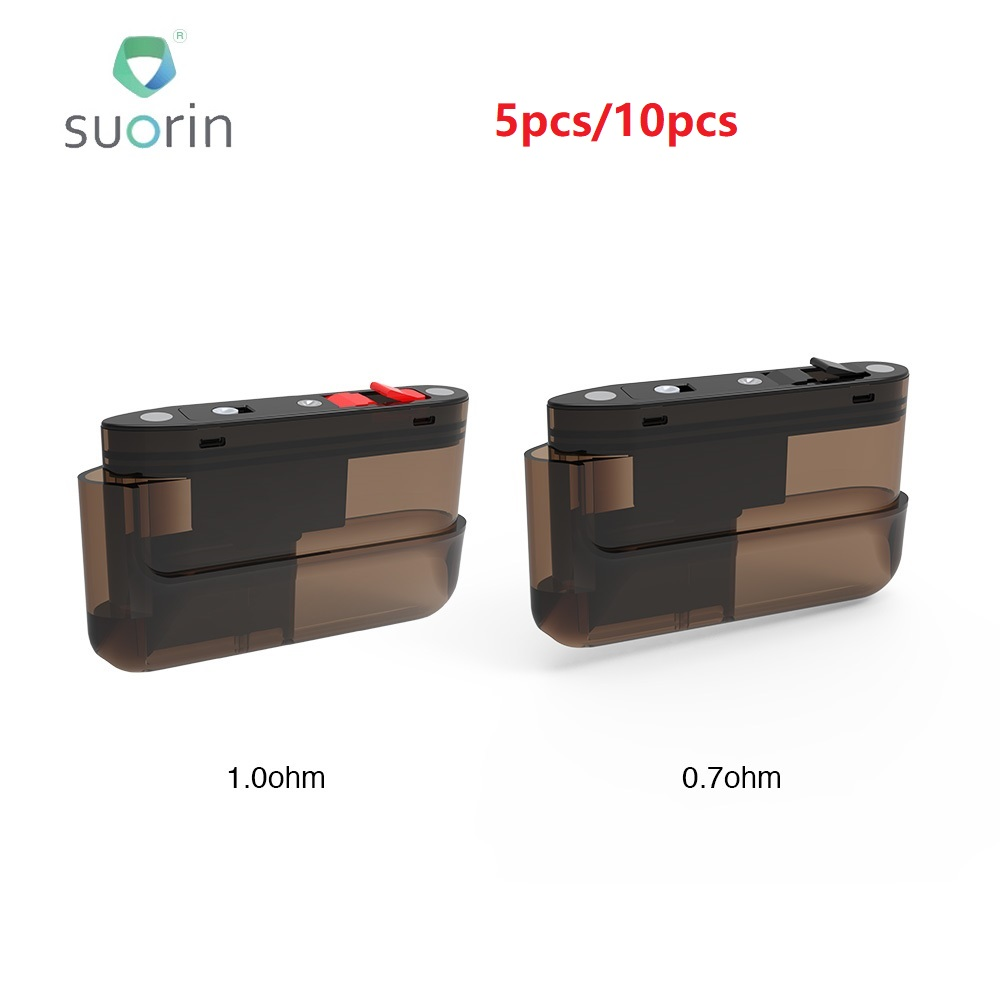 100% <font><b>Suorin</b></font> <font><b>Air</b></font> <font><b>Plus</b></font> <font><b>Pod</b></font> Cartridge 3.5ml Capacity <font><b>Pod</b></font> System Vape Vaporizer for <font><b>Suorin</b></font> <font><b>Air</b></font> <font><b>Plus</b></font> <font><b>Pod</b></font> Kit vs <font><b>Suorin</b></font> <font><b>AIR</b></font>/ Drag image