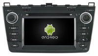 S190 FOR New MAZDA 6 Black Frame Android Car Dvd Navi Player Audio Multimedia Auto Stereo