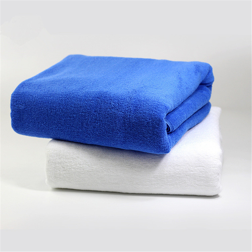 2pcs 80 180cm Egyptian cotton solid yarn dyed bath face towel high water absorbent home stars