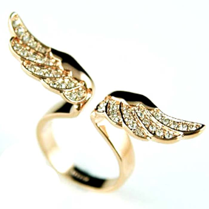 $20 (mixed order) to make wings female ring ring Fashion wholesale ring ring