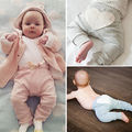 New Toddler Infant Baby Boy Girl Clothes Cute Heart Cotton Bottom Pink Pants Casual Loose Trousers Leggings 6 12 18 24 Monthes