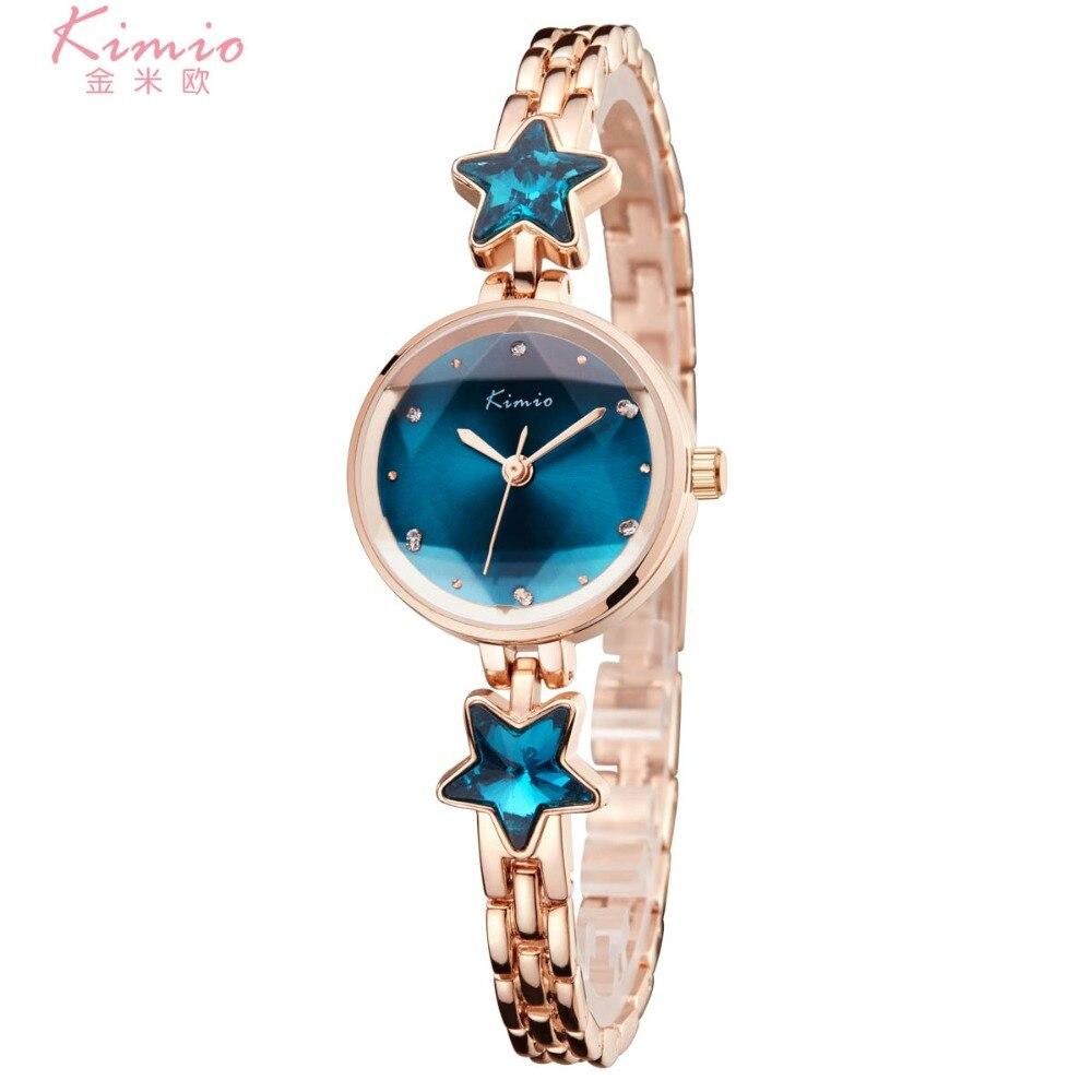 Ladies Time limited New Watch 2018 Kimio Fashion Brand Bracelet Watches For Women Diamond Jewel Girl