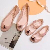 Melissa Shoes For Parent child Shoes Women Jelly Sandals 2019 New Women Melissa Sandals Melissa Jelly Shoes Non slip