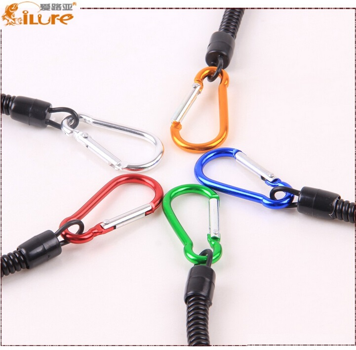 Steel Wire Boating Fishing Lanyards Tackle Tools Pliers Ropes Multicolor Ropes
