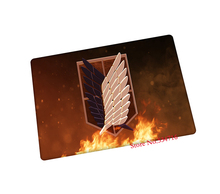 Attack on Titan mouse pad Survey Corps gaming mouse pad laptop large mousepad notbook computer pad to mouse gamer play mat
