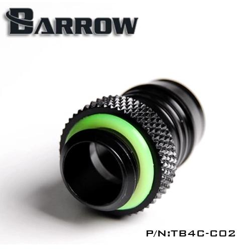 Barrow Black G1 / 4 'tipo moneda para 1/2 (ID12.7MM) tubería de agua - Componentes informáticos - foto 2