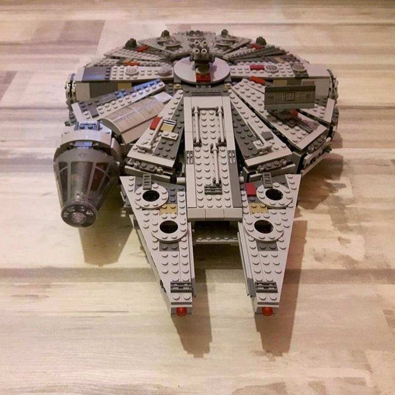 Spaceship Toys For Boys : Star wars millennium falcon spaceship building lego blocks