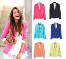 THYY 2018 Spring Short Solid Autumn Coat Blazer Women Suit Ladies Refresh Blazers Comfortable Women's Blazers Free Shipping A102