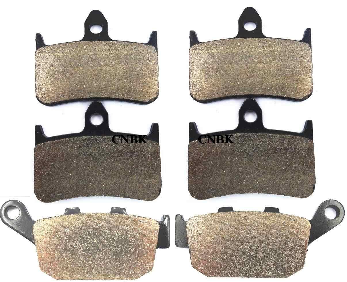 Тормозные колодки комплект для HONDA CB 400 F2V F3T Superfour CB400 96-97 NSR 250 RL RN RSP NSR250 95 и на шнуровке спереди и сзади Onroad
