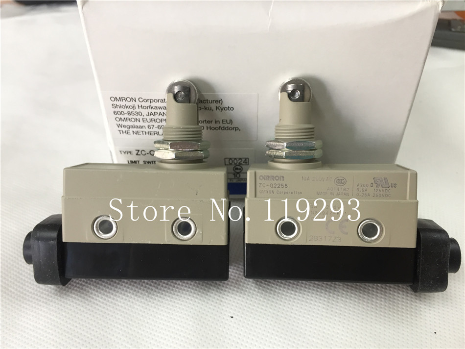 [ZOB] Supply of new original Omron omron limit switch ZC-Q2255 --5PCS/LOT [zob] 100% new original omron omron button switch a165e m 02 2pcs lot