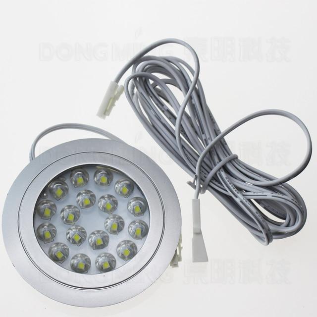 Round Recessed Led spot light 1.5W 12V Led kitchen Spotlight Warm ...