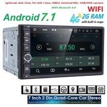 2 GB RAM Quad Core font b Car b font Electronic autoradio 2din android 7 1