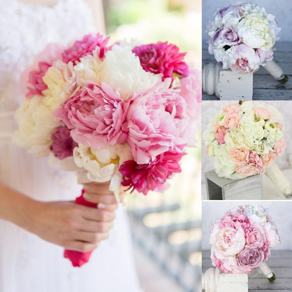 Straight Stem Foam Bouquet Holders Handle Bridal Floral Wedding ...