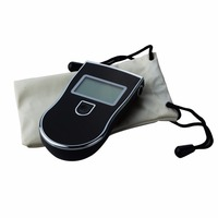 Digital Breath Alcohol Tester Breathalyzer Mouthpieces Professional Police Alcohol Tester