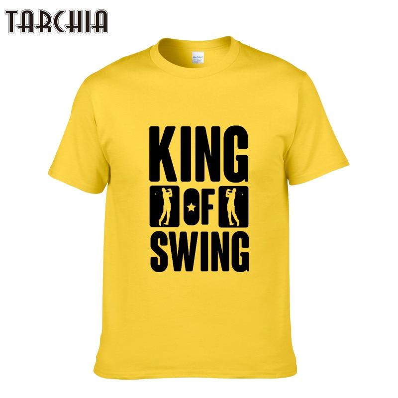 1a3147178799d ④Tarchia Для мужчин хип-хоп Street Wear футболка King Of качели ...