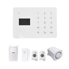 Anti-theft Alarm YA-700-GSM  Wireless Home GSM Security Alarm System  Infrared Intercom Remote Control Autodial Siren Sensor Kit free shipping ios android app control wireless home security gsm alarm system intercom remote control autodial siren sensor kit