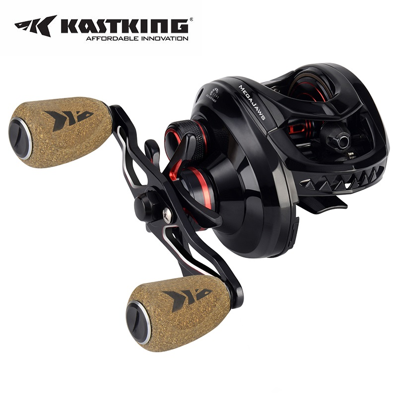KastKing Megajaws  Baitcasting Reel Right Left Hand Fishing Reel 12BBs 8KG Baitcast ReelsKastKing Megajaws  Baitcasting Reel Right Left Hand Fishing Reel 12BBs 8KG Baitcast Reels