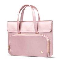 PU Leather 13 13.3 14 Inch Laptop Bag Fashion Women Handbag Briefcase Messenger Bag for Macbook Air Pro 13 Hand Bag Resistant