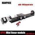 Для Reprap 3D printer1.3A  новинка  Openbuilds  Мини V линейный привод  Линейный модуль с 42 шаговым двигателем NEMA17