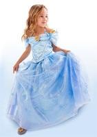 New Baby Girl S Cinderella Dress Limited Edition Costume Children Elsa Anna Princess Cosplay Dresses Kids