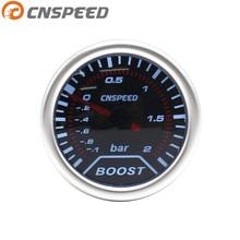 Бесплатная доставка cnspeed Boost датчик 2 «(52 мм) Дым ОБЪЕКТИВ Turbo датчик манометр наддува (-1 ~ 2 бар) /Калибр Авто/CAR МЕТР YC101225