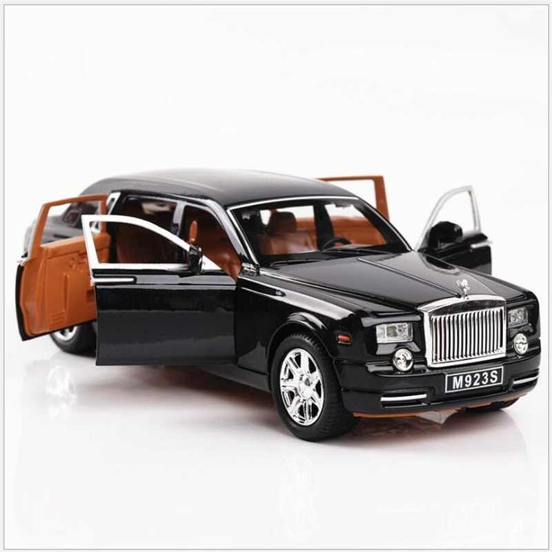 New 1:24 MODEL Alloy Car Model Diecasts & Toy Vehicles Toy Cars With Sound&Light Collection Car Toys Kid Toys For Children Gifts