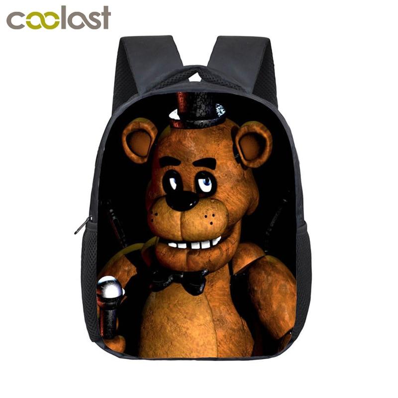 Five Nights At Freddys Backpack Children font b School b font font b Bags b font