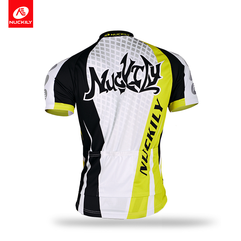 Nuckily Breathable Cycling Jersey Bike Jersey Short Sleeve Bicycle Clothing