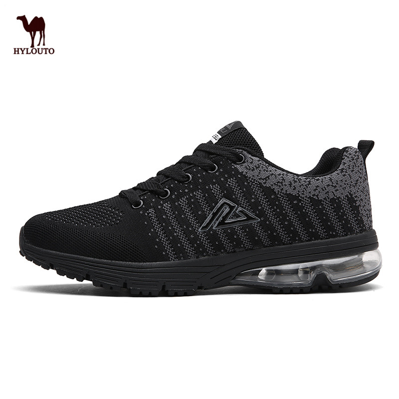 Non-slip Air Cushion Soles Breathable Net Vamp Comfortable Men Shoe Sneaker Men Sport Shoes Running Shoes 39-48 Retail Wholesale peak sport speed eagle v men basketball shoes cushion 3 revolve tech sneakers breathable damping wear athletic boots eur 40 50