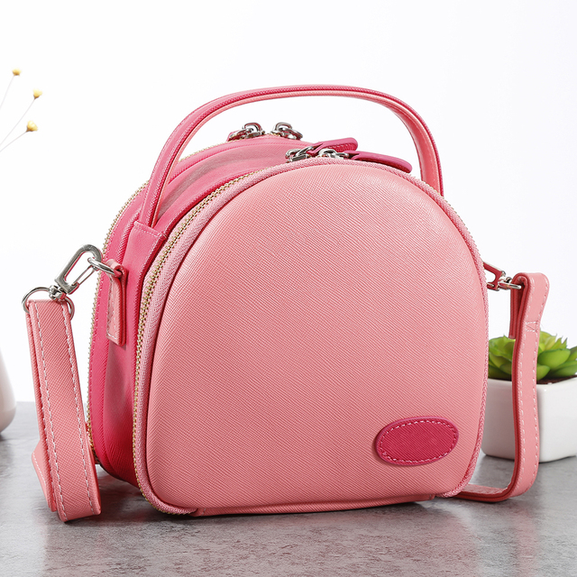 aef0e4f616 2017 Fashion Portable Camera Case Bag Backpack Pu Leather Camera Cover Zip  Bag For Mini Instax