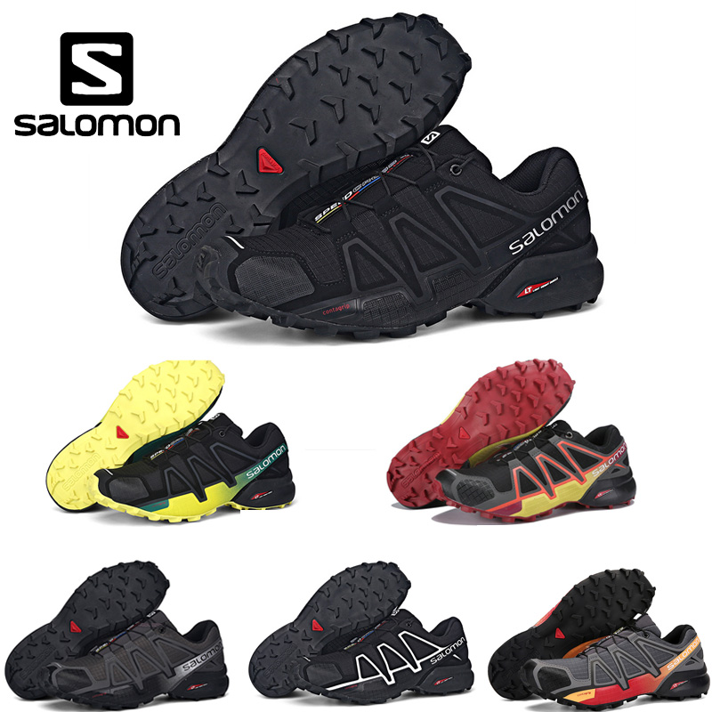 Salomon Men's sneakers Shoe Speed Cross 4 CS Outdoor Sport Athletic Zapatillas Hombre Jogging Fencing Running Mujer Shoes