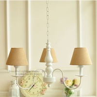 110V 240V E27 garden style Children chandeliers bedroom suspension luminaire