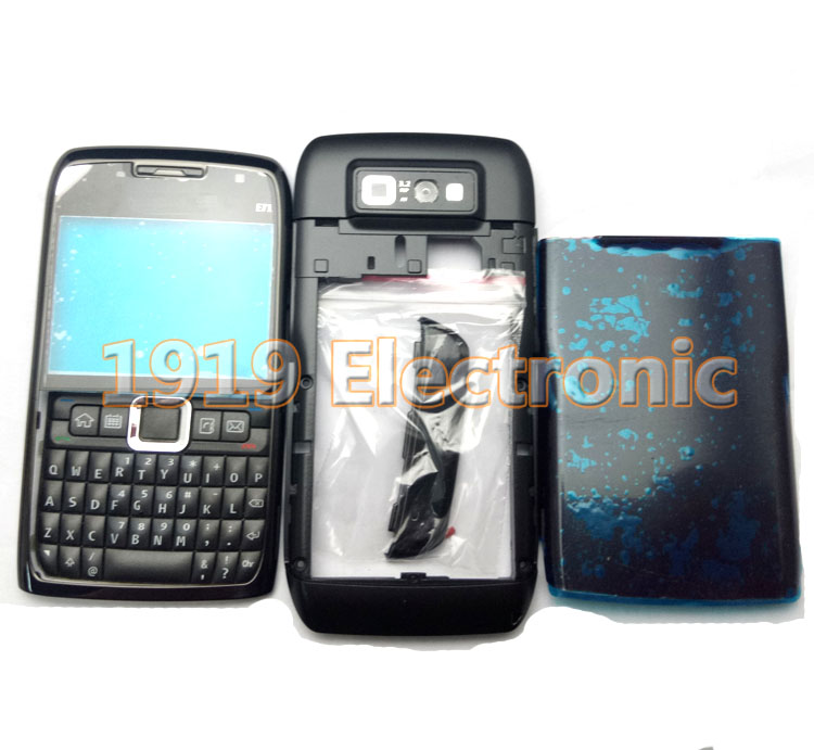New Full Complete Mobile Phone Housing Cover Case With English Or Russian OR Arabic Keypad For Nokia E71 + Tools