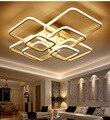 Скандинавский светодиодный потолочный светильник квадратный современный потолочный светильник для спальни гостиной lampe plafond avize домашний ...