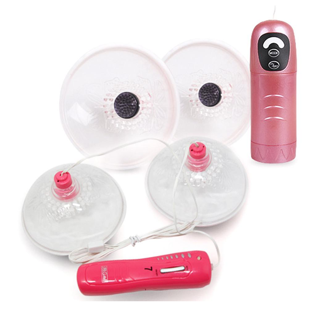 PERSONAGE 7 Frequency Breast Enlarge Pump Sucking Breast Massager Enhancer Electric Breast Enlargement Cup Bra Pump