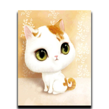 Diamond Painting Diy Cross Stitch 5D Round & Square Mosaic Diamond Rhinestones Full Diamond Embroidery Cat sexy woman full square diamond painting cross stitch diamond embroidery 5d diy european mosaic rhinestones