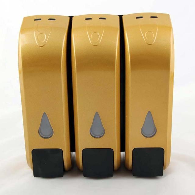 350 Ml X 3 Spender Für Reinigungsmittel Badezimmer Seifenspender Pumpe Wand  Dusche Hand Seifenspender Pumpe Kunststoff