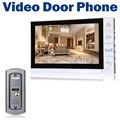 """9 """"LCD Monitor de Vídeo Porta Telefone Com Fio Câmera 700TVL IR Botão Chave Campainha Intercom Sistema de Visão Noturna"""