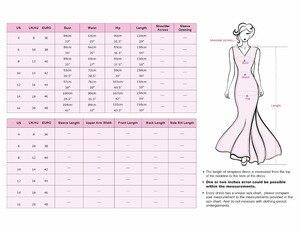Image 5 - Lange Sparkle Prom Dresses Ever Pretty 2020 Nieuwe V Back Vrouwen Elegante XXDG01170PEC Sequin Mermaid Maxi Gouden Avond Party jurken